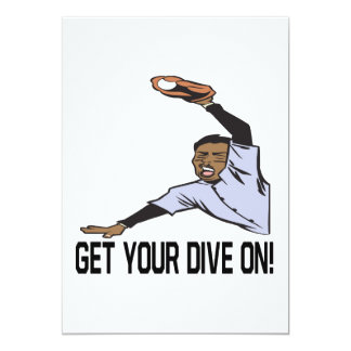 Get Your Dive On Card