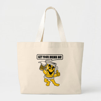GET YOUR DRINK ON CANVAS BAG