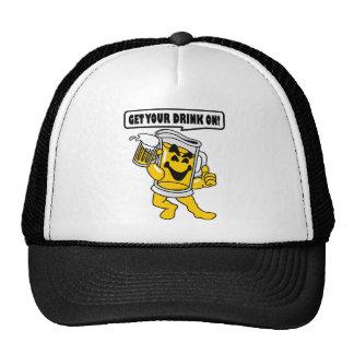 GET YOUR DRINK ON TRUCKER HAT