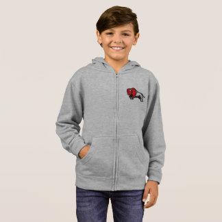 Get your EDDIE the BISON kids zip sweatshirt