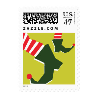 Get Your Elf & Jingle On Holiday Postage