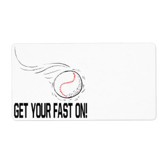 Get Your Fast On Label
