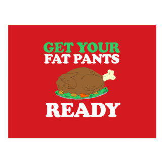 Get your fat pants ready post card
