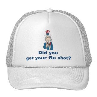 Get Your Flu Shot? Trucker Hat