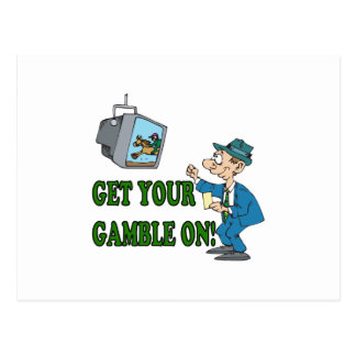 Get Your Gamble On 2 Postcard