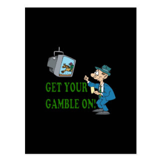 Get Your Gamble On 2 Postcards