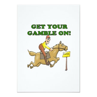 Get Your Gamble On Card