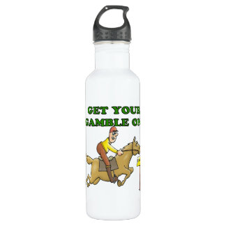 Get Your Gamble On Water Bottle