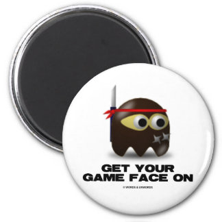 Get Your Game Face On (Ninja) Magnets