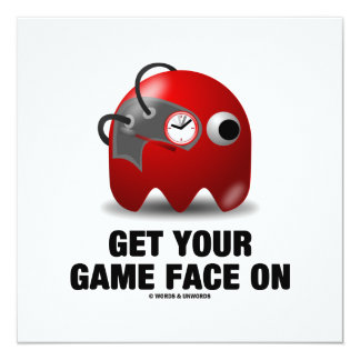 Get Your Game Face On (Real Time Borg) Card