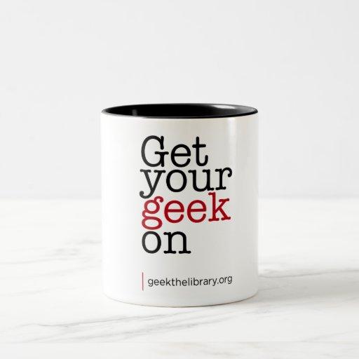 Get your geek on coffee mugs