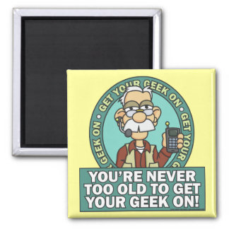 Get Your Geek On Magnet