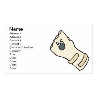 Get Your Glove On Business Card