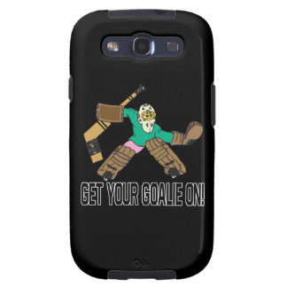 Get Your Goalie On Galaxy S3 Covers