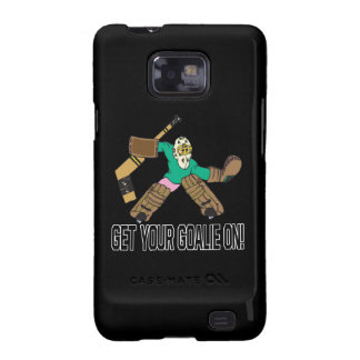 Get Your Goalie On Galaxy SII Case