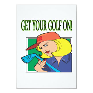 Get Your Golf On Card