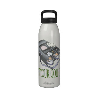 Get Your Golf On Reusable Water Bottle