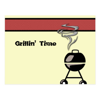 Get your GRILL ON Postcard
