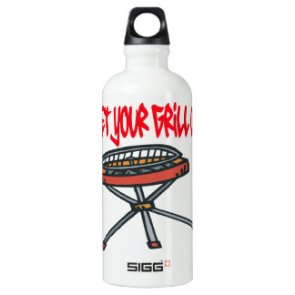 Get Your Grill On Water Bottle