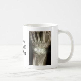 Get your hands off my coffee coffee mug