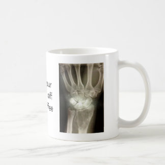 Get your hands off my coffee classic white coffee mug