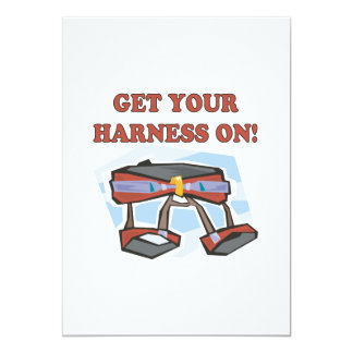 Get Your Harness On Card