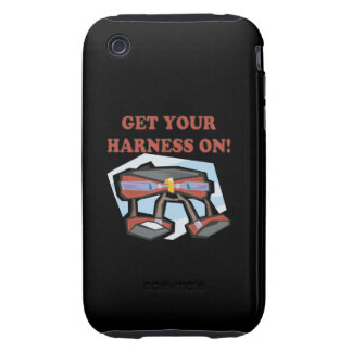 Get Your Harness On iPhone 3 Tough Covers