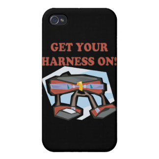 Get Your Harness On iPhone 4/4S Case