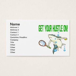 Get Your Hustle On Business Card