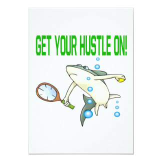 Get Your Hustle On Card