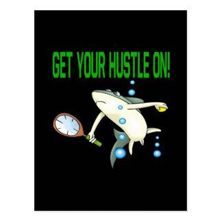 Get Your Hustle On Postcard