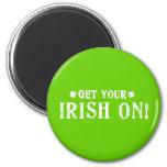 Get Your Irish On Refrigerator Magnets