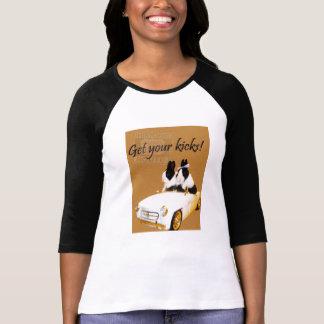 Get your kicks dutch rabbit t shirt