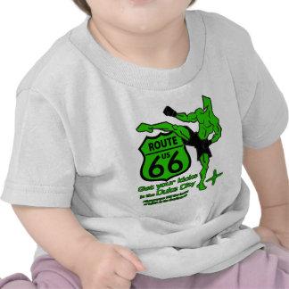 Get your kicks in the Duke City Green T Shirt