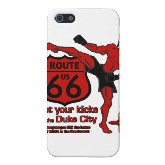 Get your kicks in the Duke City red iPhone SE/5/5s Case