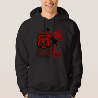 Get your kicks in the Duke City red Pullover