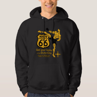 Get your kicks in the Duke City yellow Pullover