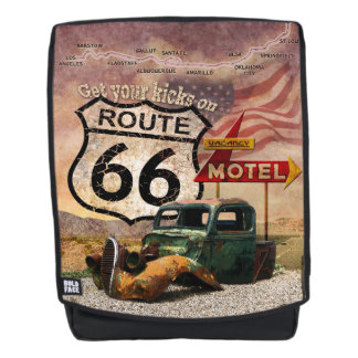 Get your Kicks on Route 66 Backpack