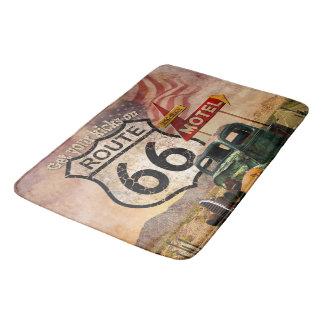 Get your Kicks on Route 66 Bath Mat