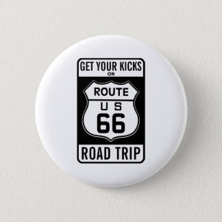 Get Your Kicks On Route 66 Button