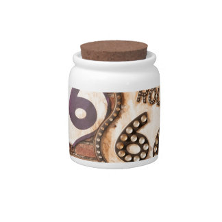 Get Your Kicks On Route 66 Candy Jar