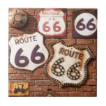 Get Your Kicks On Route 66 Ceramic Tile
