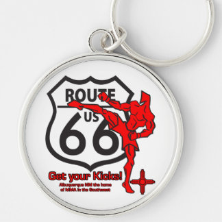 Get your Kicks on Route 66! Keychain