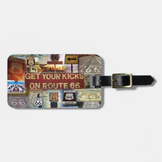 Get your Kicks on Route 66 Luggage Tag