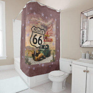 Get your Kicks on Route 66 Shower Curtain