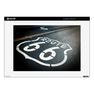 "Get Your Kicks On Route 66 15"" Laptop Decals"