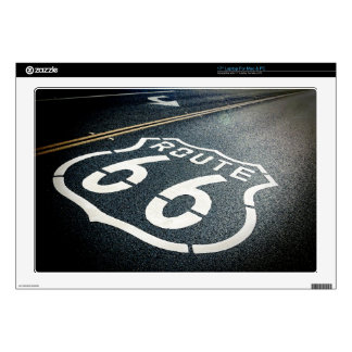 "Get Your Kicks On Route 66 17"" Laptop Skin"