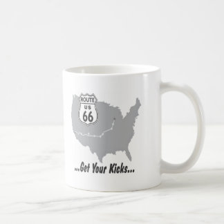 Get Your Kicks on Route 66 T-shirts and Gifts. Coffee Mug
