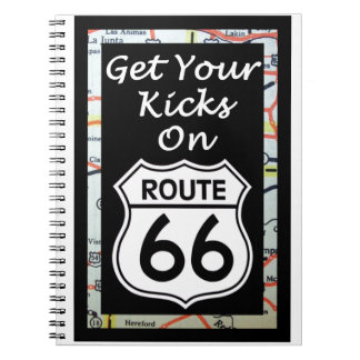 Get Your Kicks On Route 66 With Map Notebook