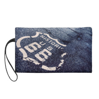 Get your kicks on Route 66 wrist bag Wristlet